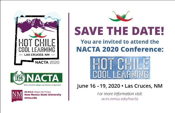 NACTA 2020 Meeting